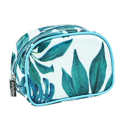 Green jungle pouch