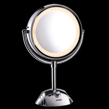 miroirs miroir lumineux rond double face 8438e babyliss paris. Black Bedroom Furniture Sets. Home Design Ideas