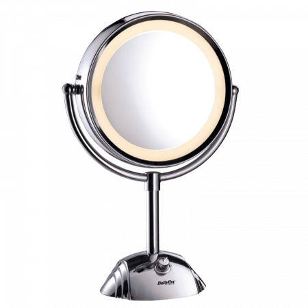 Miroir lumineux rond double face - BaByliss